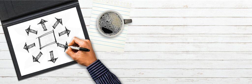 kava-stol-ruka-pisanie-fixka